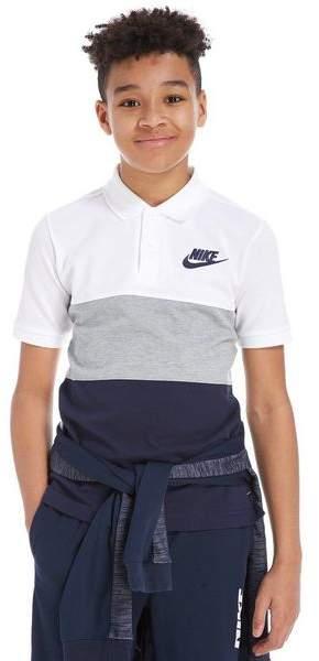 Colour Block Polo Shirt Junior