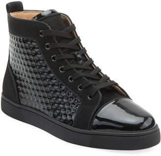 20b4d0743af Christian Louboutin Black Flat Heel Men's Shoes | 9 Christian ...