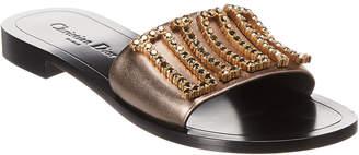 Christian Dior Leather Slide