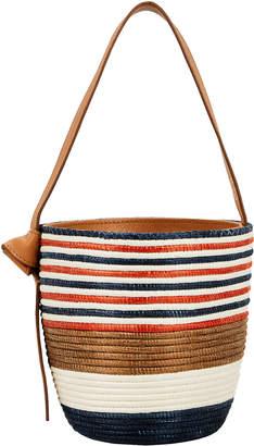 Cesta Breton Striped Bucket Bag