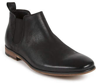 Kenneth Cole Reaction Guy Slip-On Leather Ankle Boots