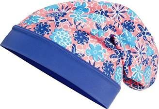 Playshoes Girl's Beanie Veilchen mit UV-Schutz Hat, Multicoloured (lachs), (Manufacturer size: 55cm)