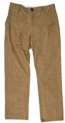 Rogan Textured Slim-Fit Pants