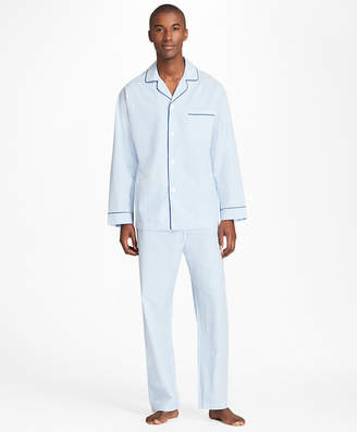 Brooks Brothers Seersucker Pajamas