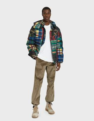 Polo Ralph Lauren Poly Down Jacket in Patchwork