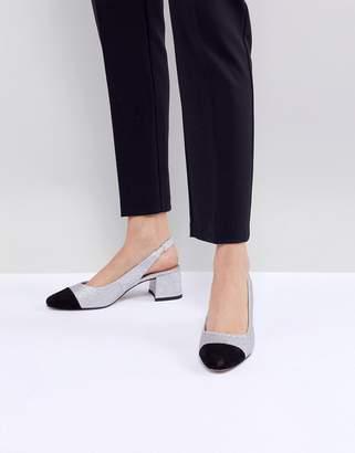 Asos Design Sanders Mid Heels