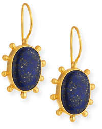 Lapis Dina Mackney Pinwheel Drop Earrings