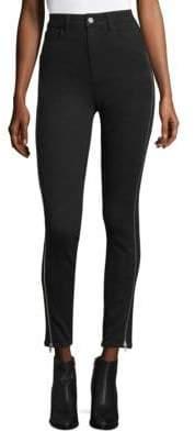 Paige Margot Ankle Zip Jeans