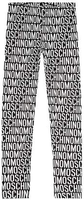 Moschino Logo Text Leggings