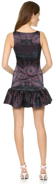 Cynthia Rowley Slim Flounce Dress