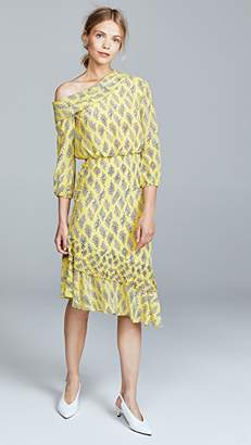 Saloni Lexie Dress