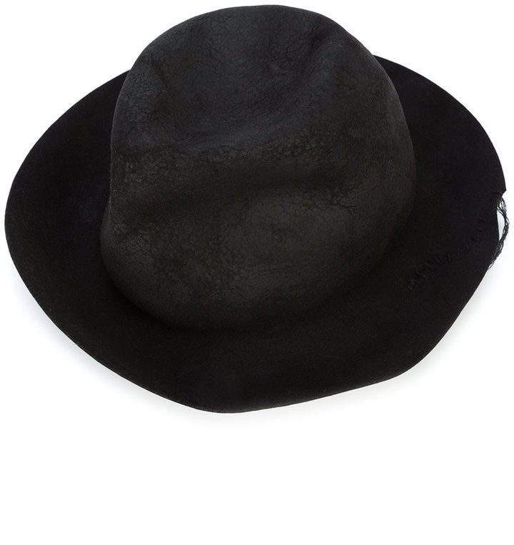 Horisaki Design & Handel grained bowler hat