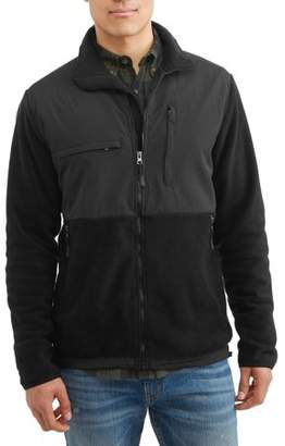 Burnside Polar Fleece Zip Front Jacket, up to Size 2XL