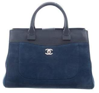 Chanel Blue Calfskin Leather Handbags - ShopStyle 17ffde510cecd