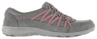 Skechers Womens Active Dream Come True Lace Up Textile Suede Memory Foam Shoes