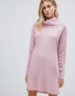 1350990578b8 Qed London QED London chunky cowl neck sweater dress
