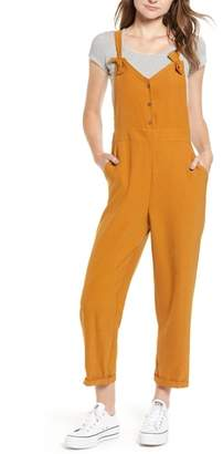 --- Button Front Overalls