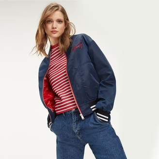 Tommy Hilfiger Embroidered Baseball Jacket