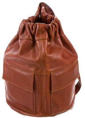 Bottega Veneta Textured Leather Backpack