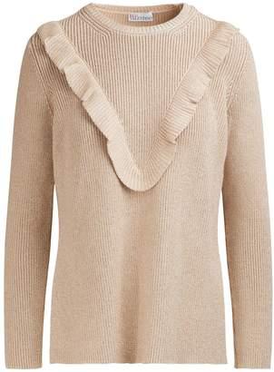 RED Valentino Lurex sweater
