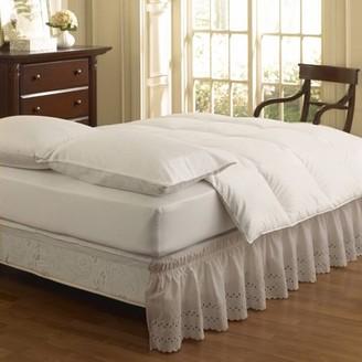 Easy Fit EasyFit Wrap Around Eyelet Ruffled Bed Skirt