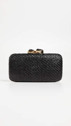 Kayu Anna Straw Clutch