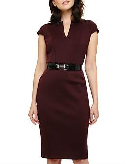 Phase Eight Abby Belted Scuba Dress