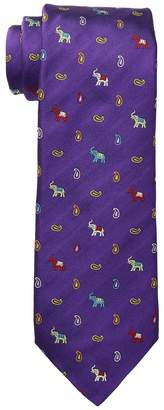 Etro Elephant Tie Ties