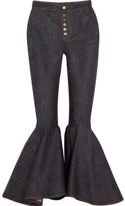 Ellery Hysteria High-rise Flared Jeans - Navy