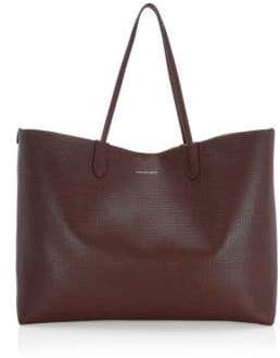 Alexander McQueen Large Leather Shopper Tote