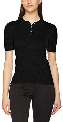 Only Women's Onlsusan 2/4 Rib Polo Pullover KNT Jumper,(Manufacturer Size: M)