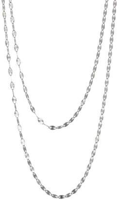 Lana 14K White Gold Double Strand Necklace