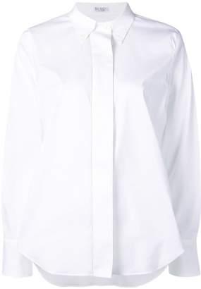 Brunello Cucinelli button down collar shirt