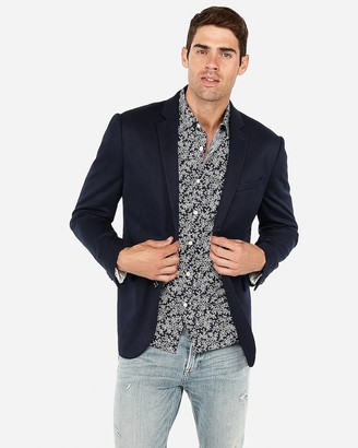 Express Slim Double Knit Blazer