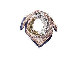 San Diego Hat Company BSS3539 Square Woven Scarf with Paisley Print
