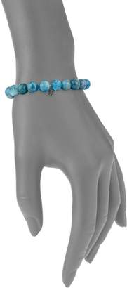 Black Diamond La Soula Sterling Silver, Blue Apatite & Bracelet