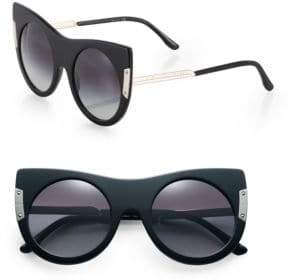 Stella McCartney Chunky 50MM Cat's-Eye Sunglasses