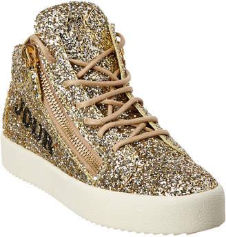 Giuseppe Zanotti Bonjour Nuit Glitter Sneaker