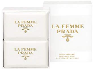 Prada La Femme Soap Set of Two