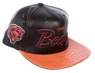 Just Don Lambskin & Python Bears Hat