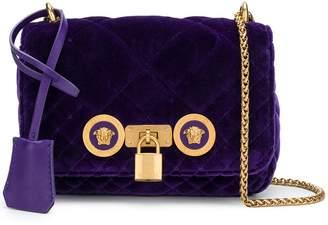 Versace velvet Medusa crossbody bag