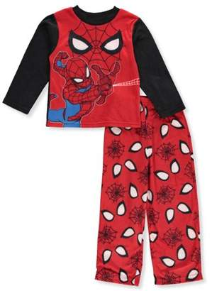 Spiderman Boy's 2 Piece Long Sleeve Pajama Sleep Set (Big Boys & Little Boys)