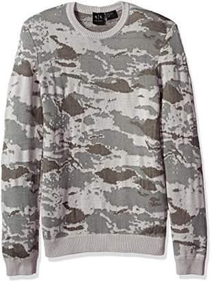 Armani Exchange A|X Men's Camo Sweater