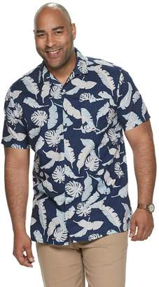 8f2316fe3 Sonoma Goods For Life Big & Tall SONOMA Goods for Life Tropical Camp Shirt