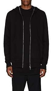 Rick Owens Men's Cotton Fleece Hoodie - Black