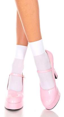 Music Legs Opaque anklet 512-WHITE