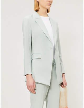 Theory Etiennette long-sleeved wool blazer