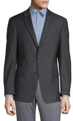 Tommy Hilfiger Wool-Blend Notch Lapel Sports Jacket