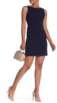Betsey Johnson Cutout Back Scuba Crepe Dress