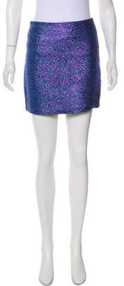Rodarte Metallic Mini Skirt w/ Tags